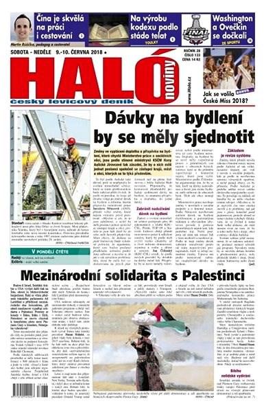 Haló noviny - 09_06_2018 - Elektronické noviny