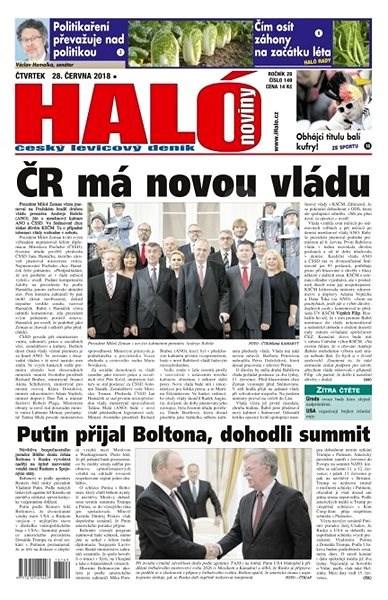 Haló noviny - 28_06_2018 - Elektronické noviny