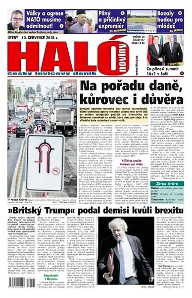 Haló noviny - 10_07_2018 - Elektronické noviny