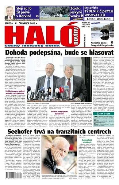 Haló noviny - 11_07_2018 - Elektronické noviny