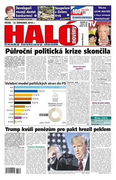 Haló noviny - 13_07_2018 - Elektronické noviny