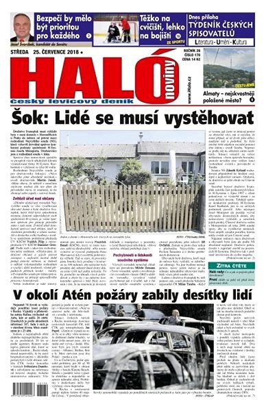 Haló noviny - 25_07_2018 - Elektronické noviny