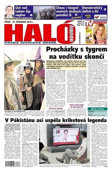 Haló noviny - 27_07_2018 - Elektronické noviny