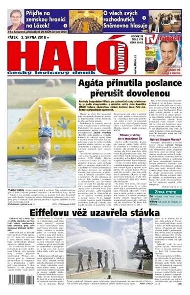 Haló noviny - 03_08_2018 - Elektronické noviny