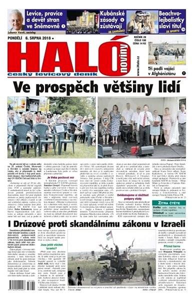 Haló noviny - 06_08_2018 - Elektronické noviny