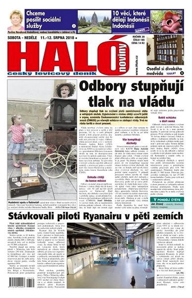Haló noviny - 11_08_2018 - Elektronické noviny