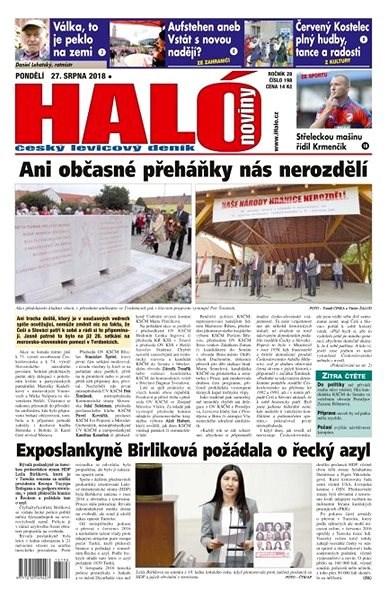 Haló noviny - 27_08_2018 - Elektronické noviny