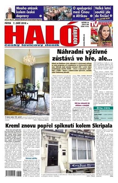 Haló noviny - 07_09_2018 - Elektronické noviny