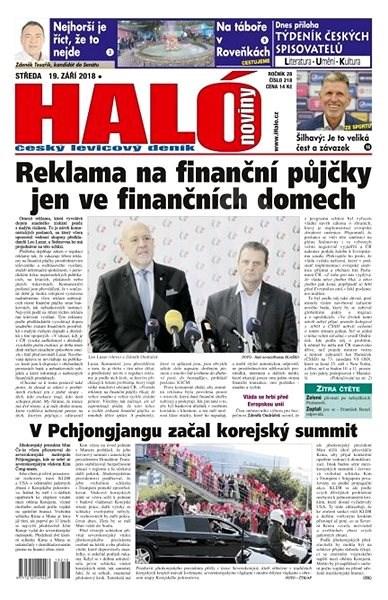 Haló noviny - 19_09_2018 - Elektronické noviny