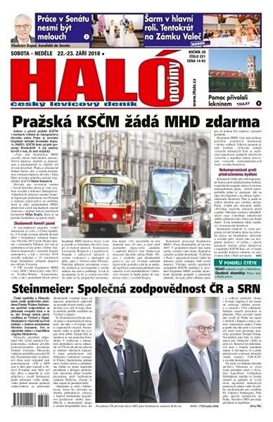 Haló noviny - 22_09_2018 - Elektronické noviny