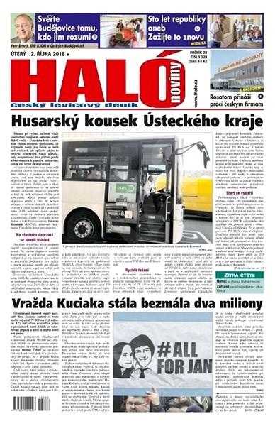 Haló noviny - 02_10_2018 - Elektronické noviny
