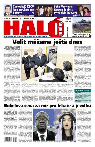 Haló noviny - 06_10_2018 - Elektronické noviny