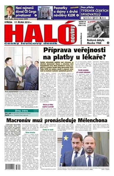 Haló noviny - 17_10_2018 - Elektronické noviny