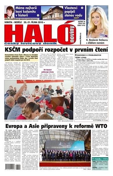 Haló noviny - 20_10_2018 - Elektronické noviny