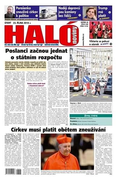 Haló noviny - 23_10_2018 - Elektronické noviny