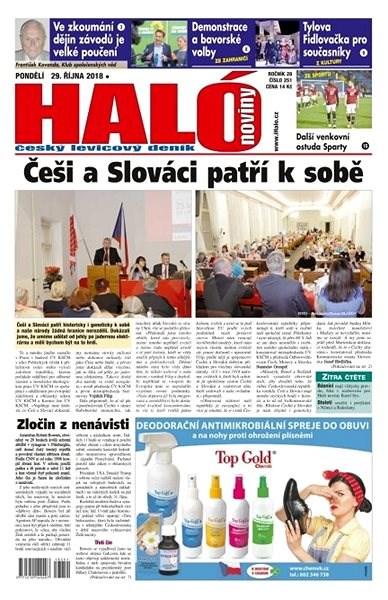 Haló noviny - 29_10_2018 - Elektronické noviny