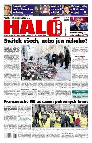 Haló noviny - 19_11_2018 - Elektronické noviny