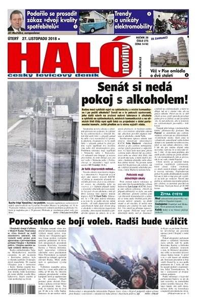 Haló noviny - 27_11_2018 - Elektronické noviny