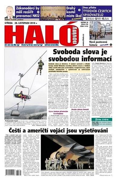 Haló noviny - 28_11_2018 - Elektronické noviny