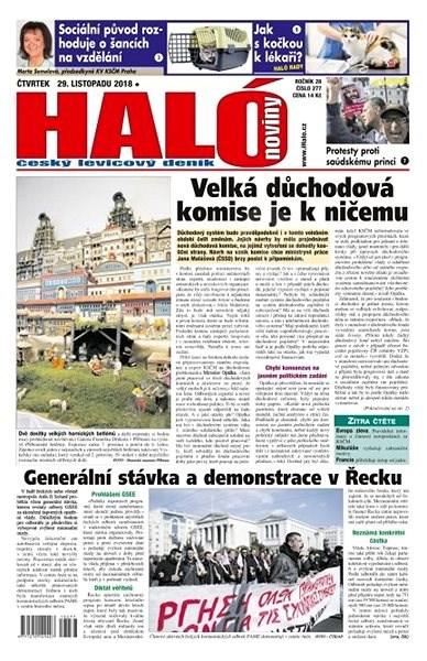 Haló noviny - 29_11_2018 - Elektronické noviny