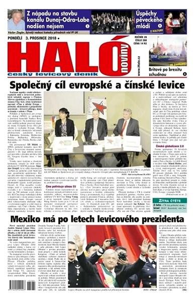 Haló noviny - 03_12_2018 - Elektronické noviny