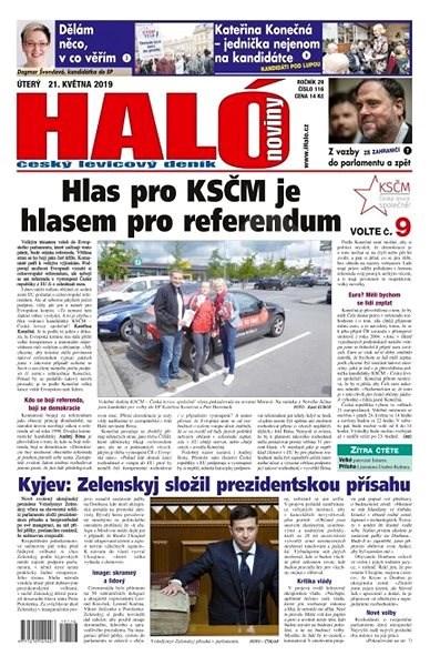 Haló noviny - 21_05_2019 - Elektronické noviny