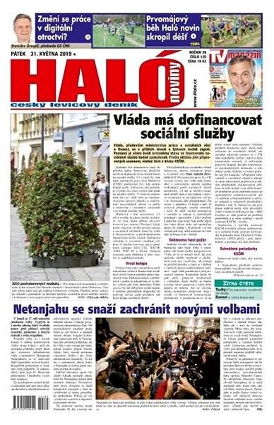 Haló noviny - 31_05_2019 - Elektronické noviny