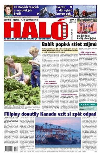 Haló noviny - 01_06_2019 - Elektronické noviny