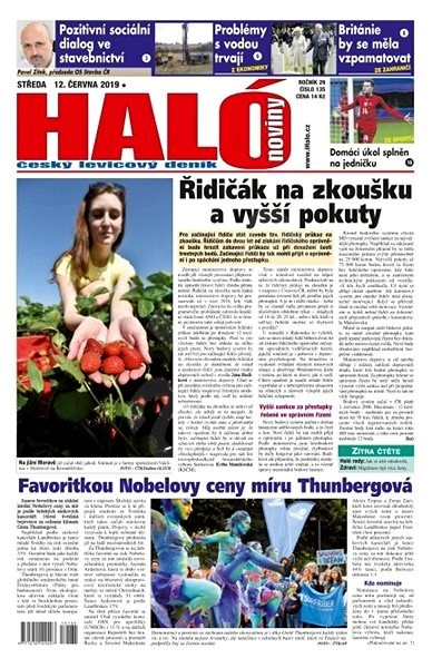Haló noviny - 12_06_2019 - Elektronické noviny