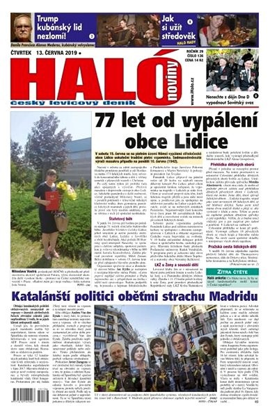 Haló noviny - 13_06_2019 - Elektronické noviny