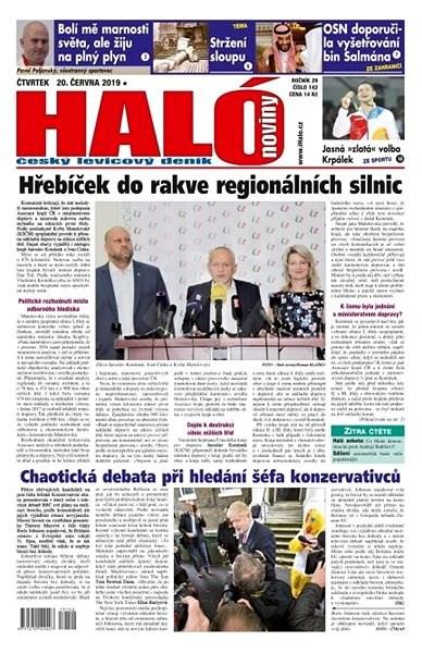 Haló noviny - 20_06_2019 - Elektronické noviny