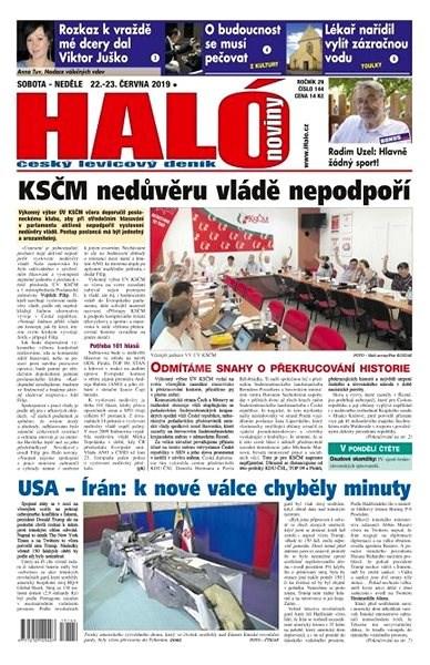 Haló noviny - 22_06_2019 - Elektronické noviny