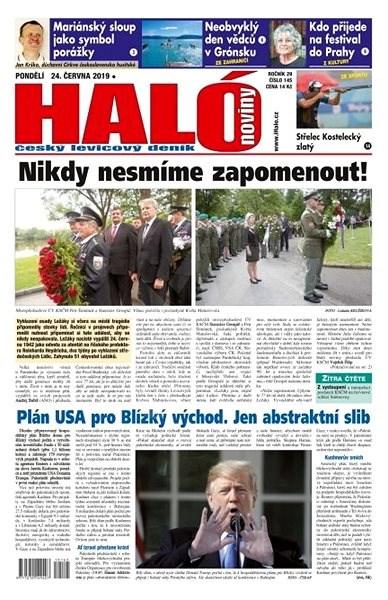 Haló noviny - 24_06_2019 - Elektronické noviny