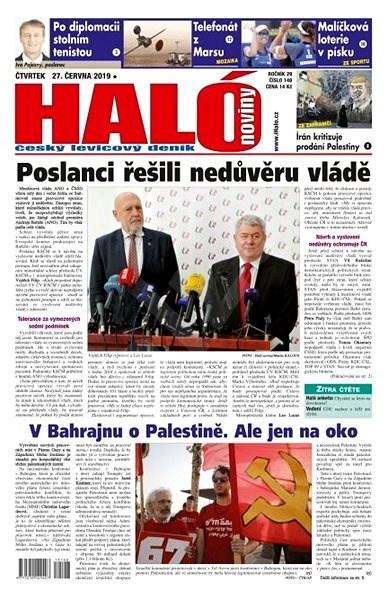 Haló noviny - 27_06_2019 - Elektronické noviny