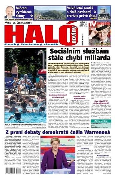 Haló noviny - 28_06_2019 - Elektronické noviny