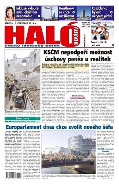 Haló noviny - 03_07_2019 - Elektronické noviny