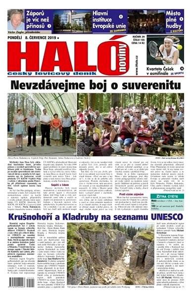 Haló noviny - 08_07_2019 - Elektronické noviny