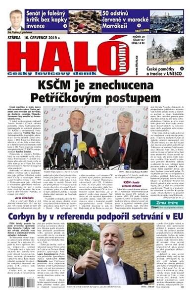 Haló noviny - 10_07_2019 - Elektronické noviny