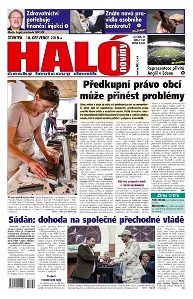 Haló noviny - 18_07_2019 - Elektronické noviny