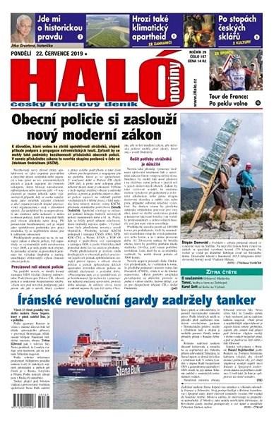 Haló noviny - 22_07_2019 - Elektronické noviny