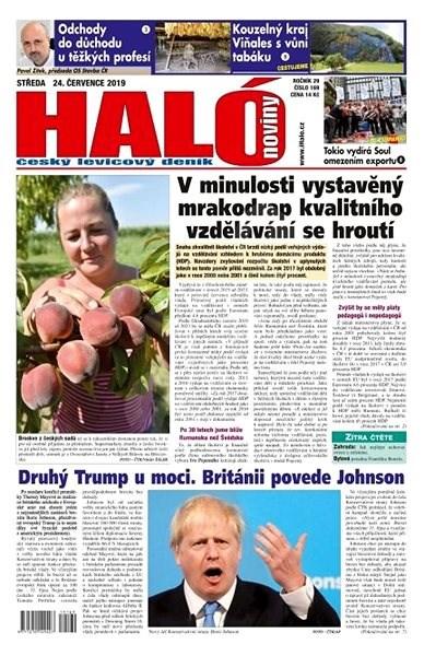 Haló noviny - 24_07_2019 - Elektronické noviny