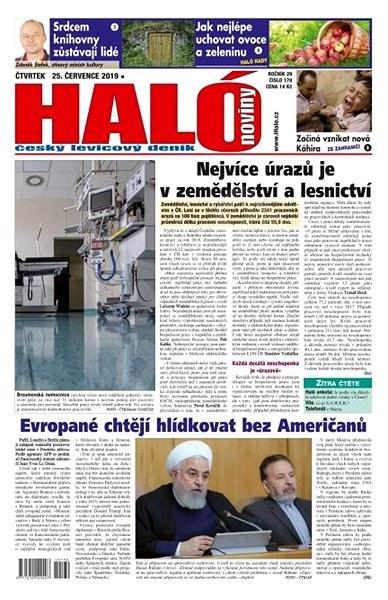 Haló noviny - 25_07_2019 - Elektronické noviny