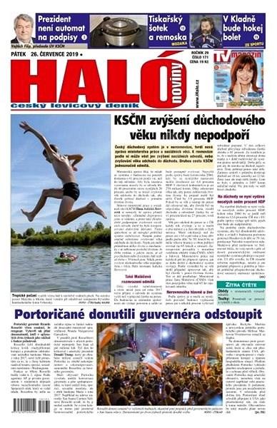 Haló noviny - 26_07_2019 - Elektronické noviny