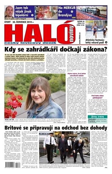 Haló noviny - 30_07_2019 - Elektronické noviny