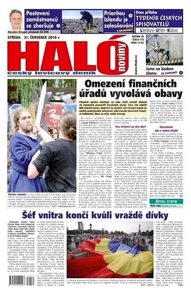 Haló noviny - 31_07_2019 - Elektronické noviny