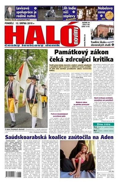 Haló noviny - 12_08_2019 - Elektronické noviny