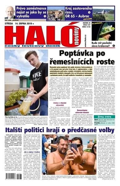 Haló noviny - 14_08_2019 - Elektronické noviny