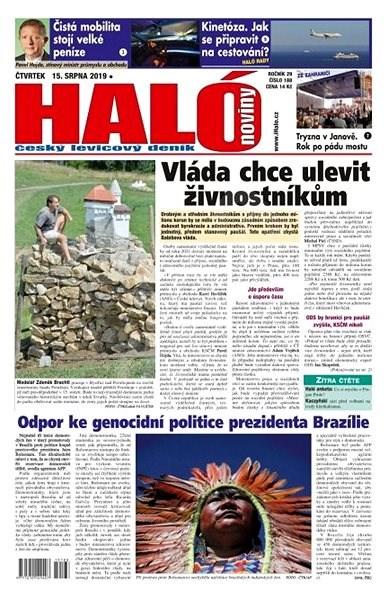 Haló noviny - 15_08_2019 - Elektronické noviny