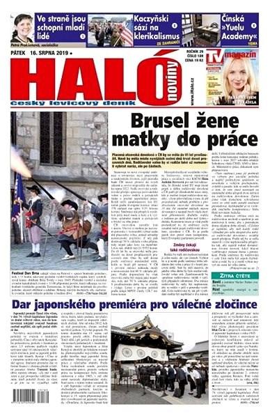 Haló noviny - 16_08_2019 - Elektronické noviny