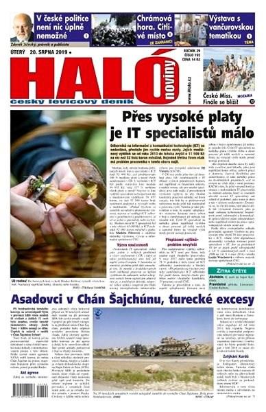 Haló noviny - 20_08_2019 - Elektronické noviny